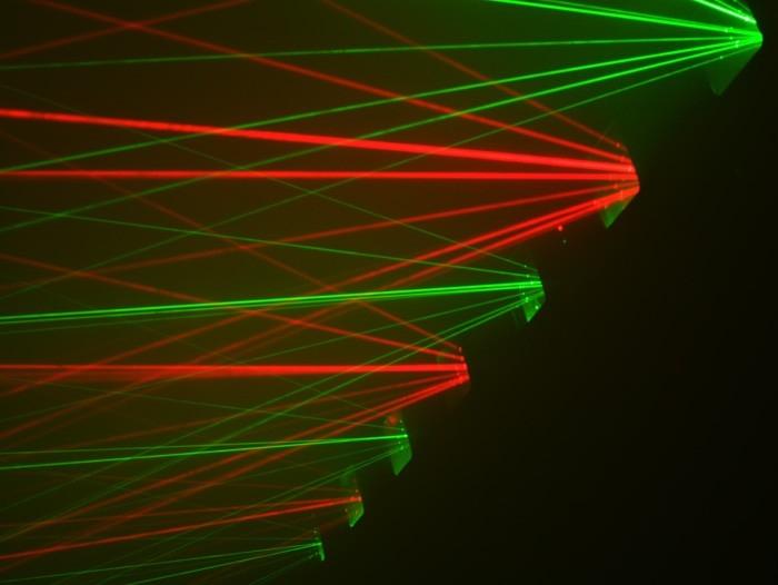 Laser lys