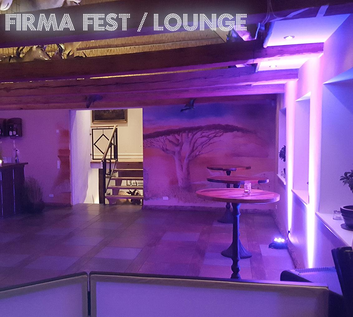 Firmat fest / lounge