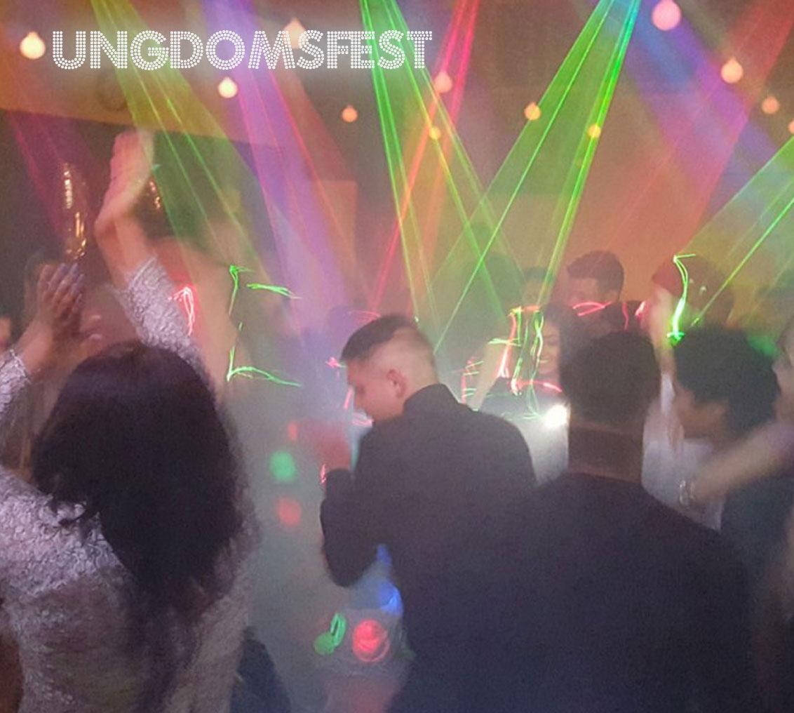 Ungdomsfest - 18års-20års m.m.