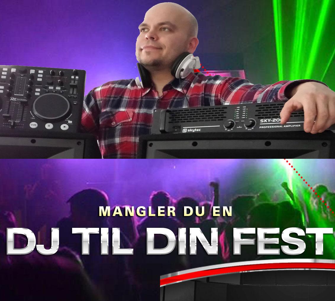 Lej en DJ incl. alt